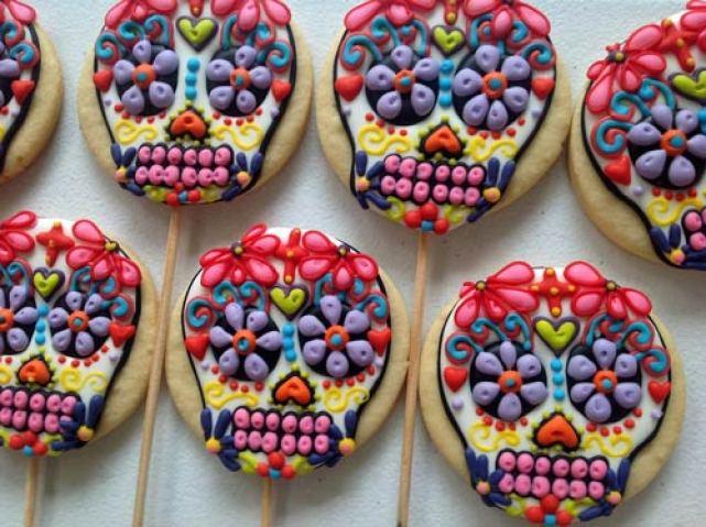 galletas de halloween y día de muertos