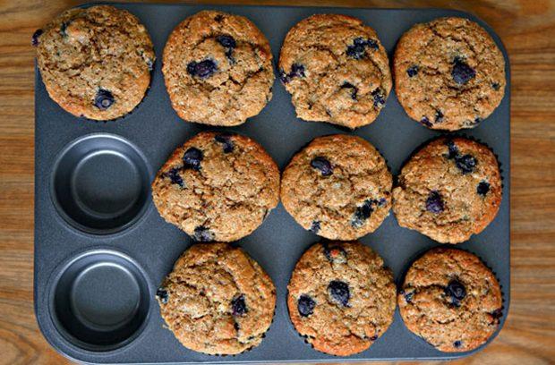Cupcakes de Arándanos de Gordon Ramsay
