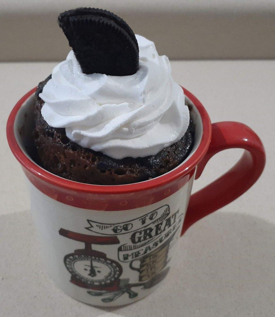 Mug Cake o Pastel en Taza