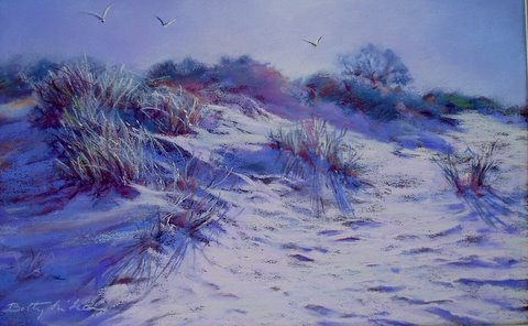 Betty McLean - Morning in the Dunes