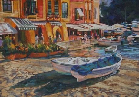 Carmen McFaull - Portofino Harbour