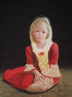 Graham Symonds - Girl in a Red Dress