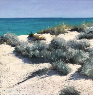 Val Brooks - Coastal bush