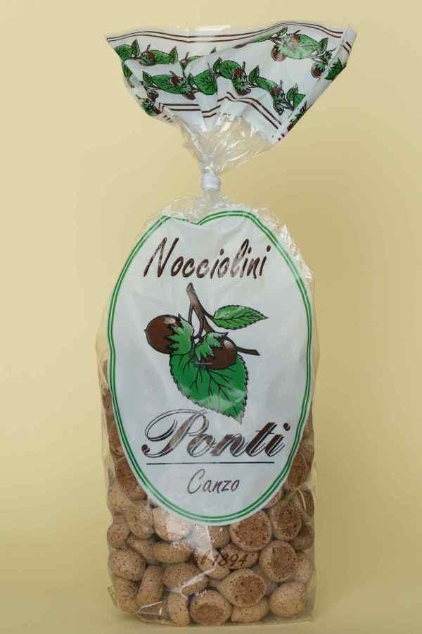 Nocciolini di Canzo Pasticceria Ponti Canzo Como 200 gr.