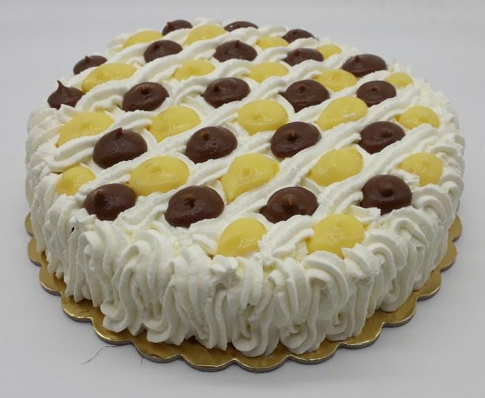 torta dama crema e cioccolato