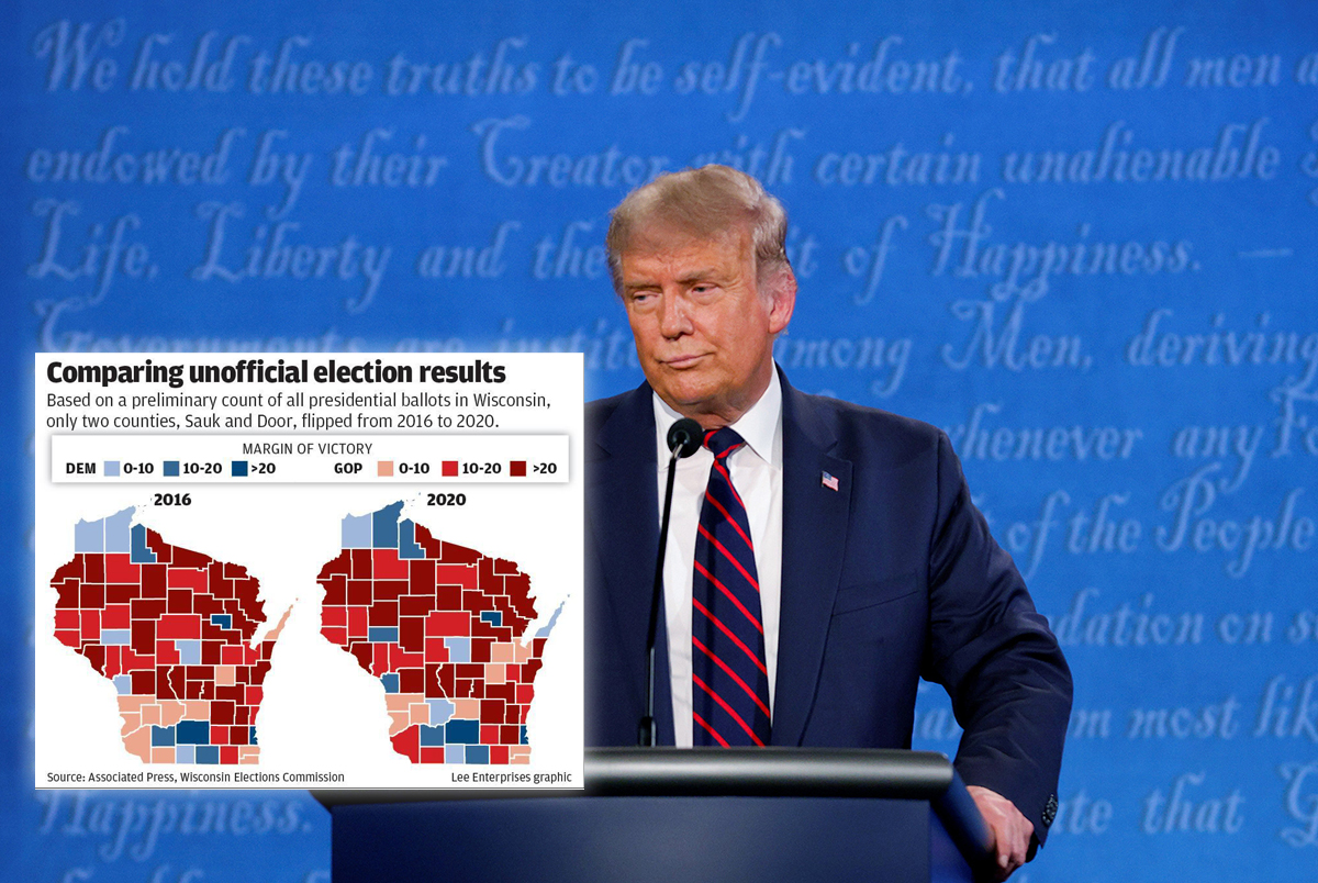 Report: FBI Investigating Whether Trump Spent $3 Million in Wisconsin Buying Votes