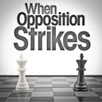 When Opposition Strikes Sermon Art