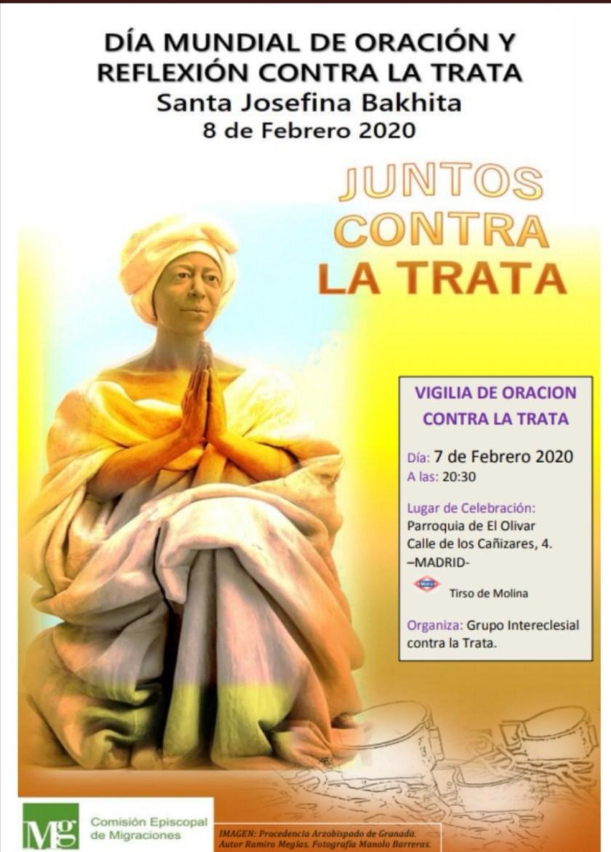 Día Mundial de Oración y Reflexión Contra la Trata