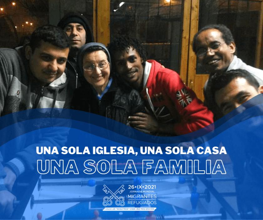 MIG 210926 JMMR Jornada Mundial del Migrante y del Refugiado 2021. Una Iglesia, una casa, una familia. General