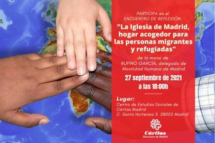 Migrantes. Iglesia que acoge en Madrid. Rufino García Antón.