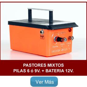 Pastor eléctrico Zagal Pilas y Batería