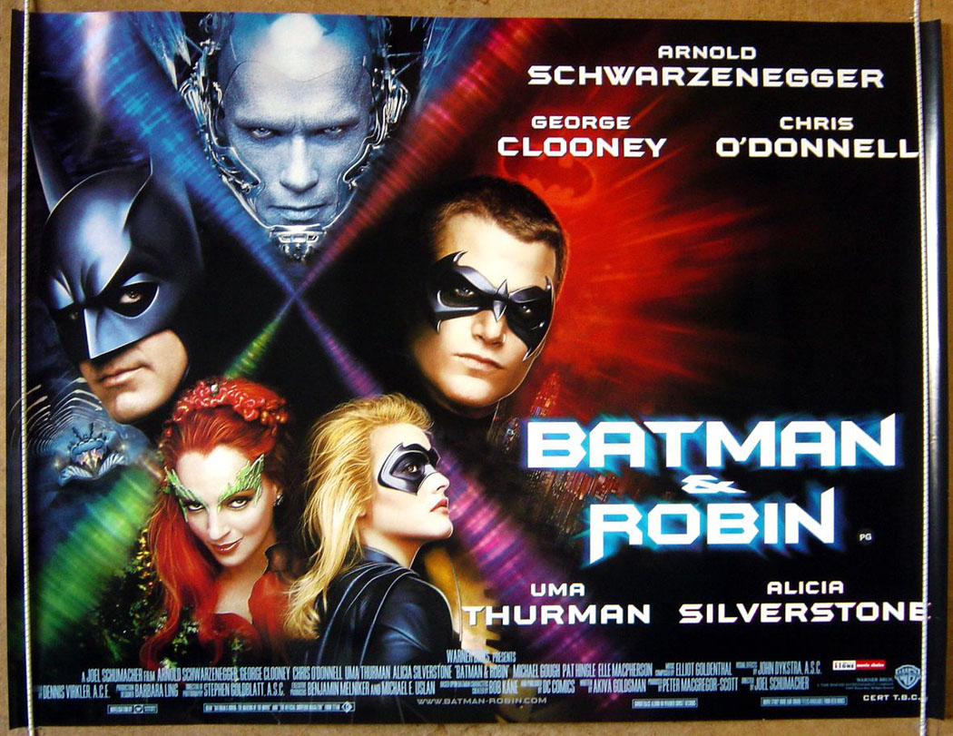 Poster do filme Batman & Robin