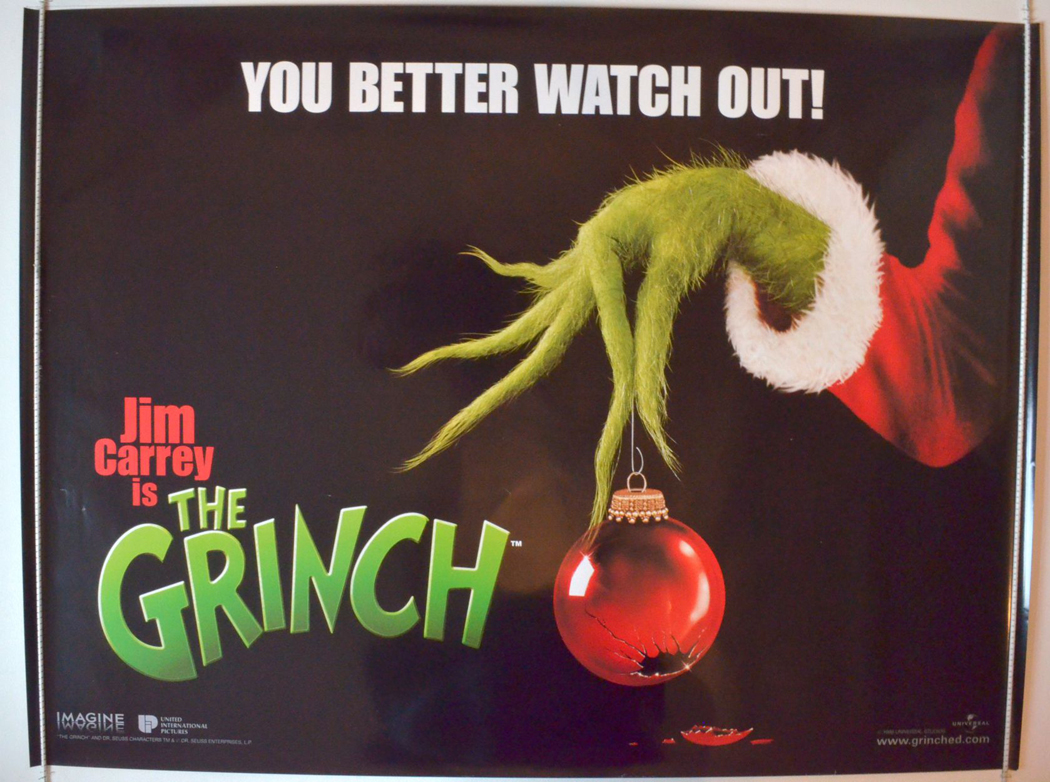 Grinch The Teaser Advance Version Original Cinema