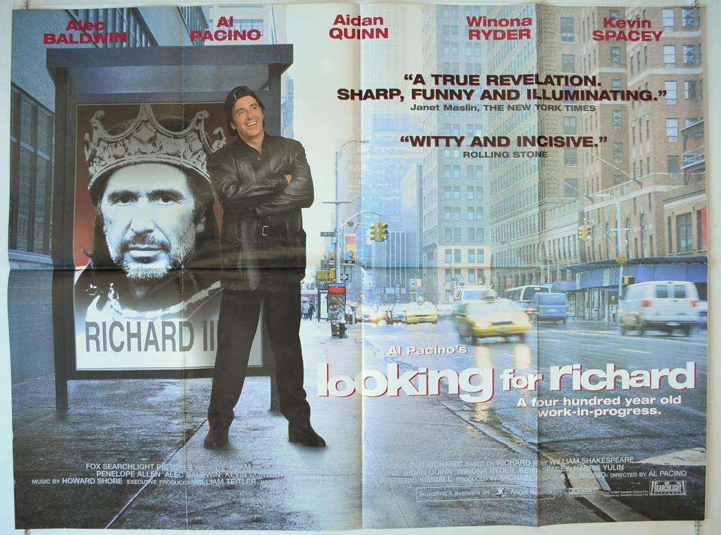 Image result for looking for richard movie poster