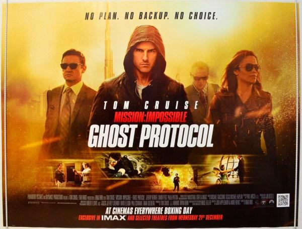 Mission Impossible Ghost Protocol Original Cinema