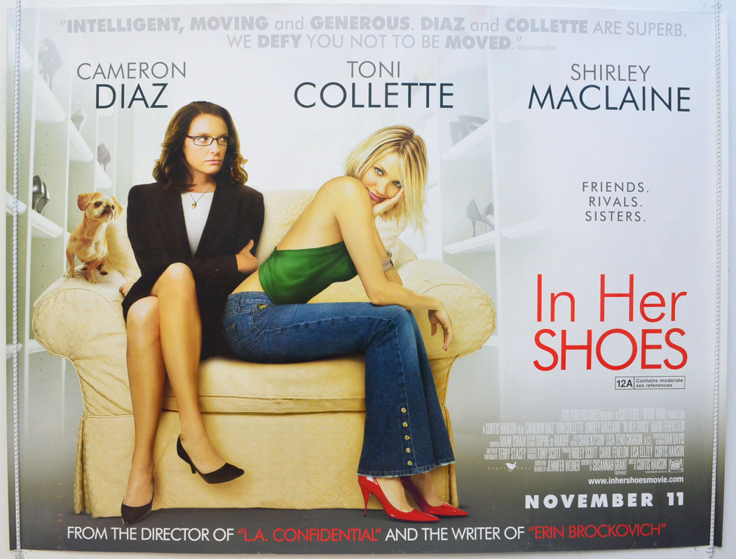 Image result for in her shoes poster