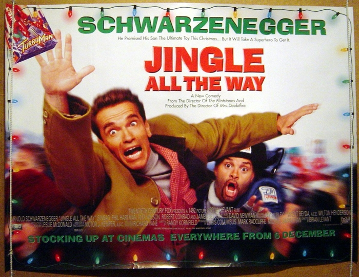 Jingle All The Way Original Cinema Movie Poster From
