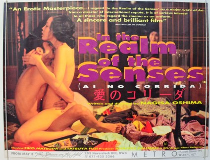 Image result for in the realm of the senses poster
