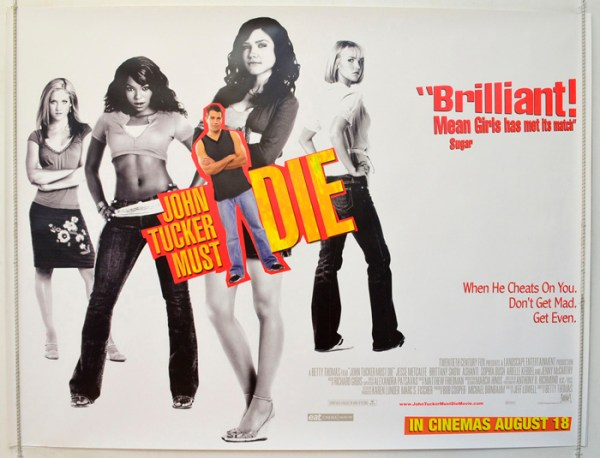 John Tucker Must Die Original Cinema Movie Poster From