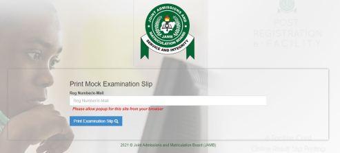JAMB Mock Exam Result 2021