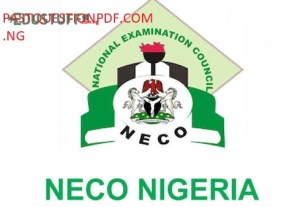 NECO French Past Questions and Answers