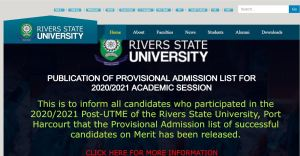 RSU Post UTME Past Questions and Answers