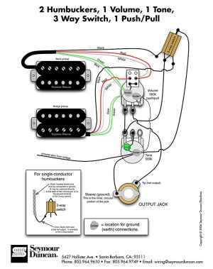 HH1Vol1ton3pospushpull | Pastrana Guitars