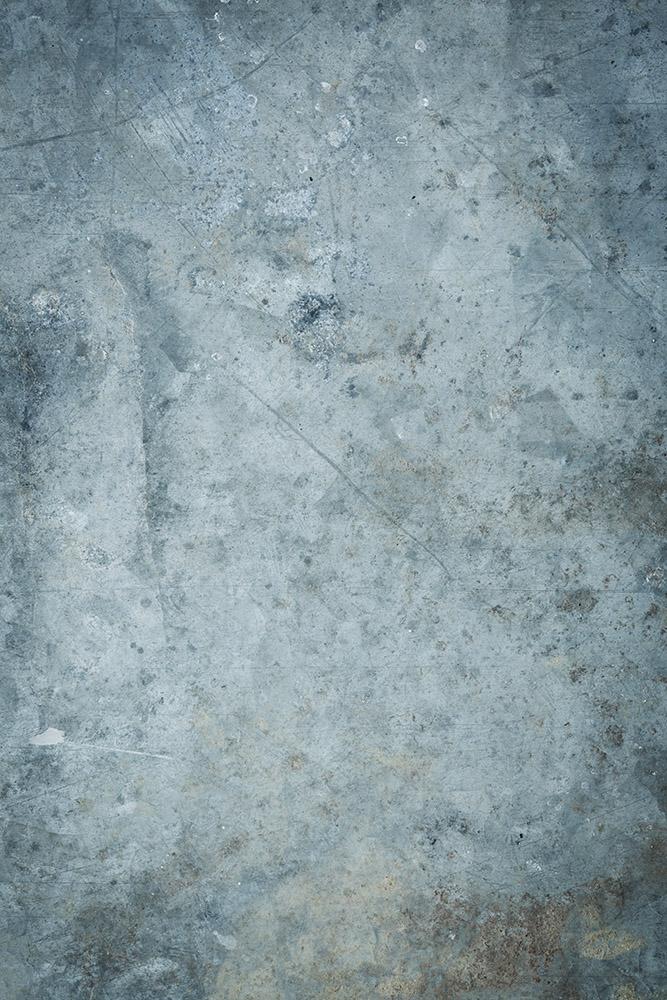 fond photo effet béton bleu clair