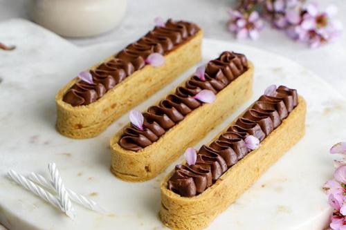 tarte snickers vegan revisitée