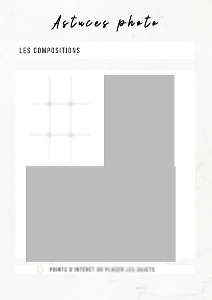 Guide des compositions culinaires photographie