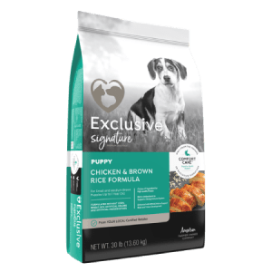 Exclusive Signature Puppy Food