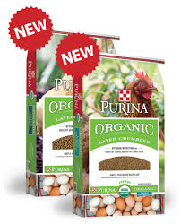 purina organic chicken feed