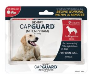capguard flea tablets