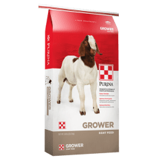 Purina® Goat Grower-Finisher 14 DX .0033 available at Pasturas Los Alazanes in Dallas, Texas.