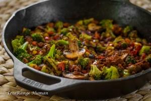 Chorizo Stir Fry