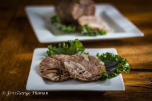 Spiced Cider Brined Head Cheese