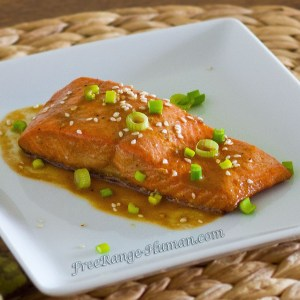 Sweet Sesame Ginger Salmon