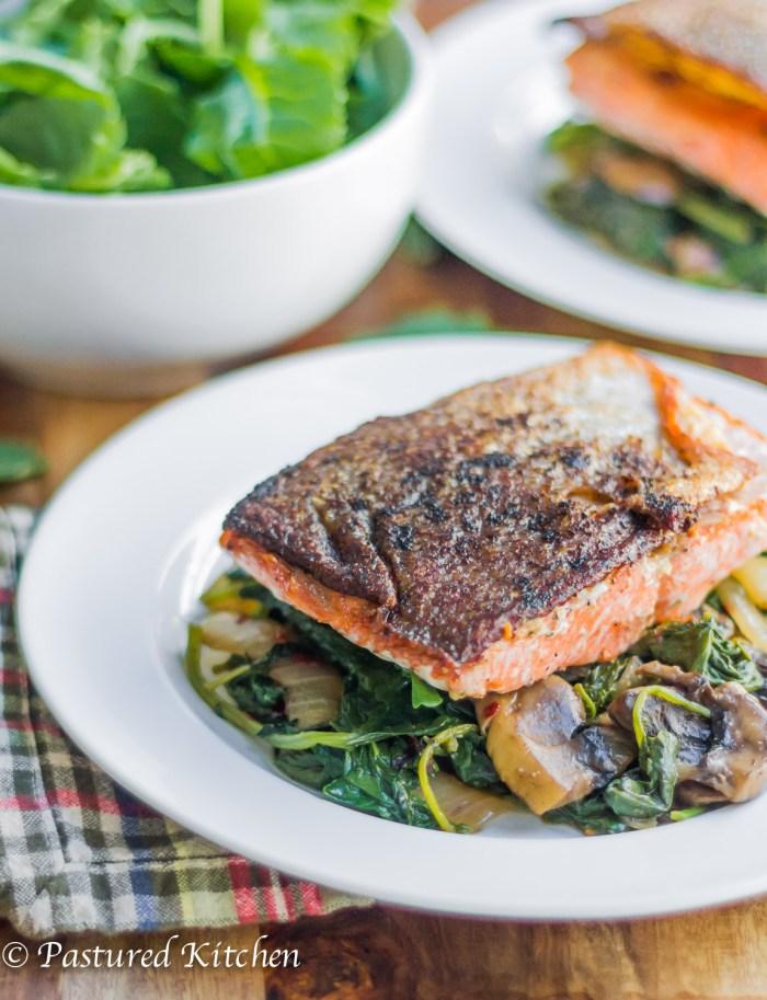 Skillet Salmon Fillets