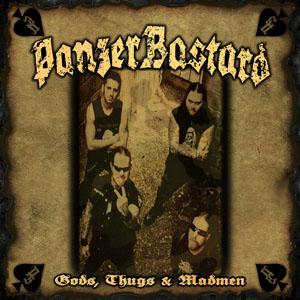 "Panzerbastard - Gods, Thugs & Madmen 10"" EP"