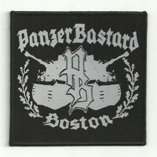 "Panzerbastard 4""x4"" Embroidered Patch (CANNOT SHIP MEDIA MAIL!)"