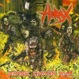 Hirax - Noise Chaos War CD