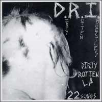 DRI - Dirty Rotten Imbeciles LP (blue vinyl)