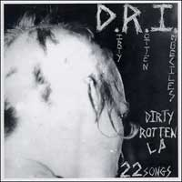 DRI - Dirty Rotten Imbeciles LP (blue vinyl)