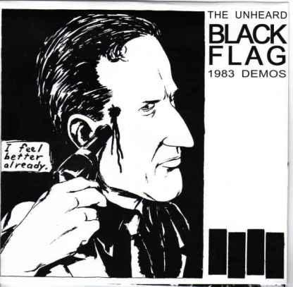 "Black Flag 'The Unheard 1983 Demos' 7"" Vinyl EP"