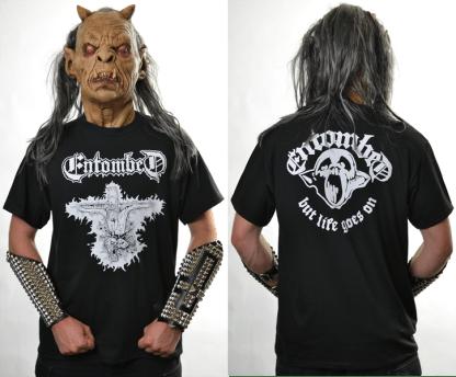 Entombed 'But Life Goes On' T-Shirt