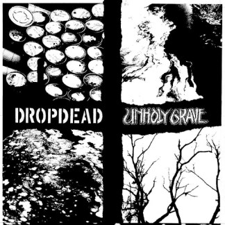 Dropdead/Unholy Grave split EP COLOR VINYL