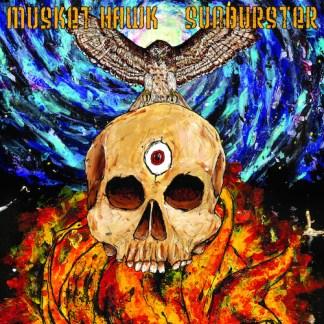 "Musket Hawk / Sunburster split 7"" vinyl EP"