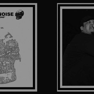 Bastard Noise / Lack Of Interest split LP vinyl