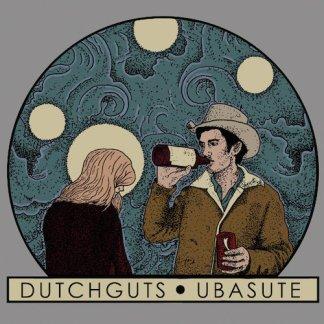 """Dutchguts / Ubasute - split 7"""" EP (Blue Vinyl)"""