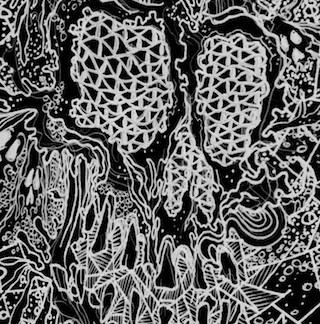 Occult 45 / Hivelords - split cassette